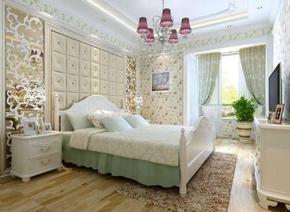 田园卧室装修图片