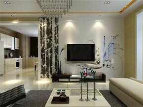 現代簡約風格小戶型客廳顏色搭配