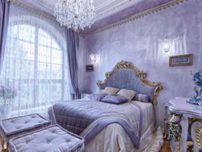 奢華歐式臥室裝修效果圖