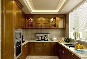 現代風格廚房裝修設計圖