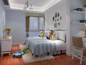 充滿童趣的兒童臥室整體效果圖