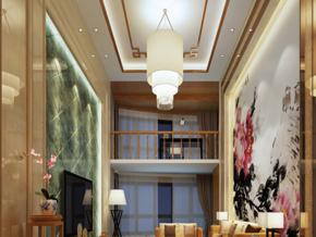 中式別墅客廳裝修效果圖