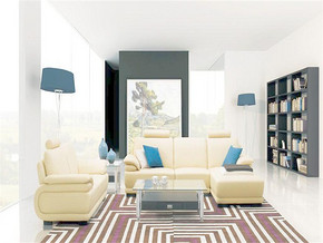 两室简约客厅效果图
