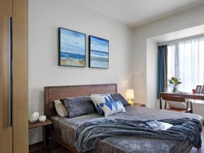 實用簡單現代風格臥室設計裝修效果圖
