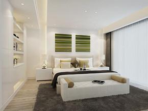 日式风格别墅卧室装修效果图
