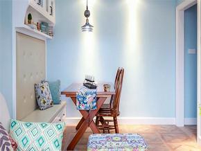 温馨现代风格三室装修效果图