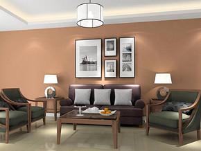 美式风格客厅家具装修效果图