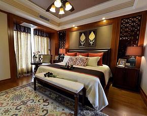 復古歐式大臥室裝修效果圖