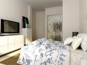 現代簡約風格15平米臥室裝修效果圖