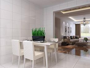 現代風格家庭飯廳裝修效果圖