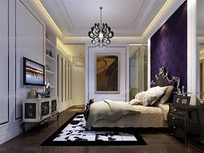 新古典风格卧室效果图