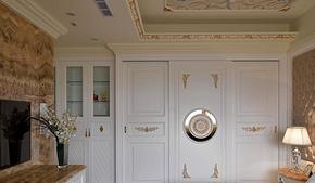 奢华欧式风格卧室衣柜装修效果图