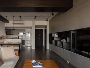 现代简约风格客厅电视柜装修效果图