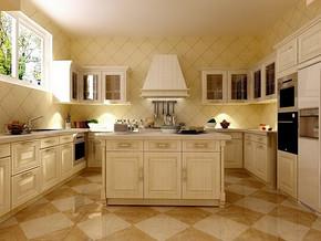 普通家庭厨房装修效果图