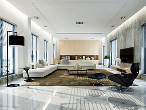 現代風格客廳吊頂裝修效果圖