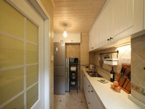 長條廚房裝修設計效果圖