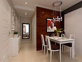 现代简约风格餐厅橱柜效果图