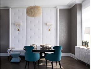美式风格餐厅装修设计效果图