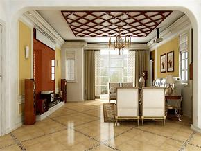 新古典歐式客廳效果圖
