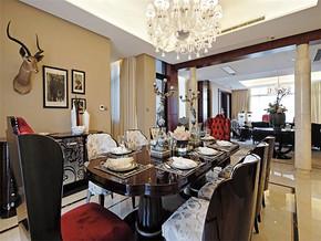 現代風格家庭餐廳吊頂造型圖片