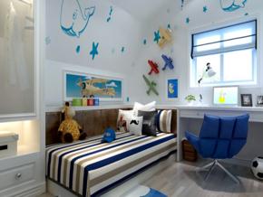 兩室兒童房裝修效果圖