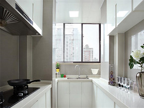 INS流行簡約歐式廚房裝修效果圖