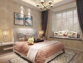 房屋卧室装修装饰效果图