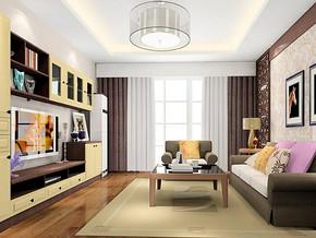 美式風格客廳電視柜裝修效果圖