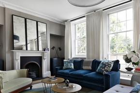 欧式简约风格客厅装修效果图