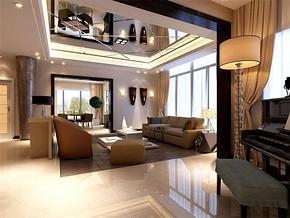 現代風格客廳室內裝修效果圖