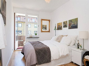 現代簡約風格15平米臥室家裝效果圖