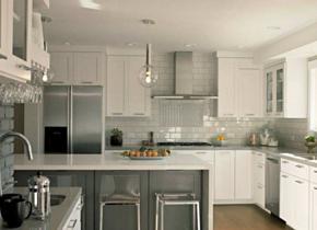 簡約風格廚房裝修效果圖