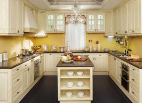 别墅厨房装修效果图
