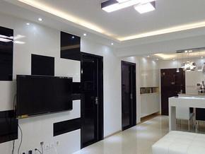现代风格客厅背景墙装修效果图