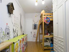 温馨舒适地中海两室装修效果图