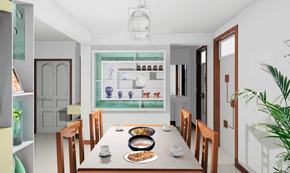 小户型现代风格餐厅效果图