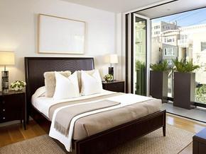 现代欧式风格卧室装修设计效果图