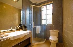 长方形卫生间装饰效果图