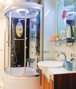 现代风格小卫生间装修效果图