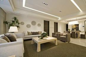 現代客廳簡約裝修效果圖