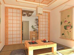 日式風格臥室榻榻米裝修效果圖