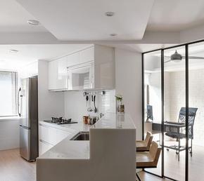 小戶型開放式廚房吧臺設計裝修效果圖