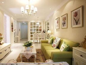 現代風格客廳沙發背景墻裝修效果圖