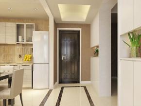 現代簡約客廳玄關裝修效果圖