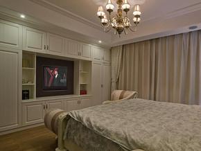 欧式风格卧室组合衣柜装修效果图