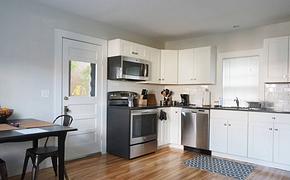 開放式廚房整體廚房櫥柜裝修效果圖