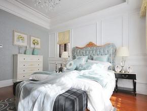 婚房卧室色彩装饰效果图