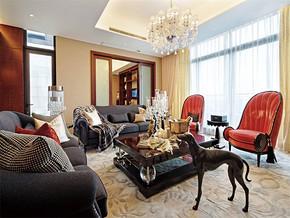 現代風格小戶型客廳顏色搭配裝修效果圖