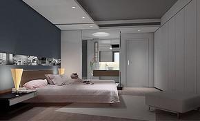 现代卧室家居装修效果图