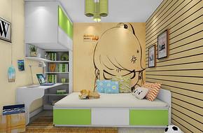 兒童房間設計效果圖